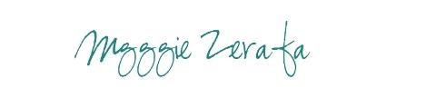 Maggie Zerafa Signature