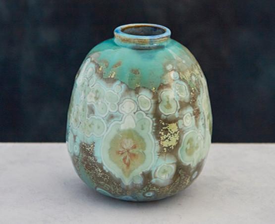 Crystalline Vase skye zerafa ceramics