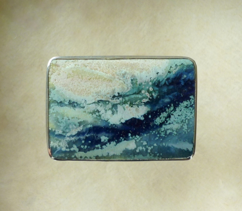 'Blue Water' Brooch