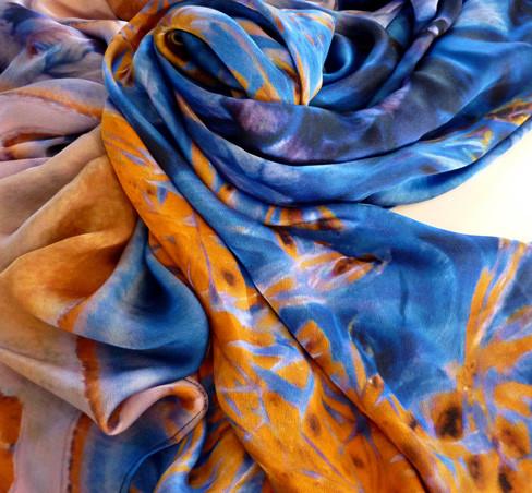 silk scarf crystal print skye zerafa