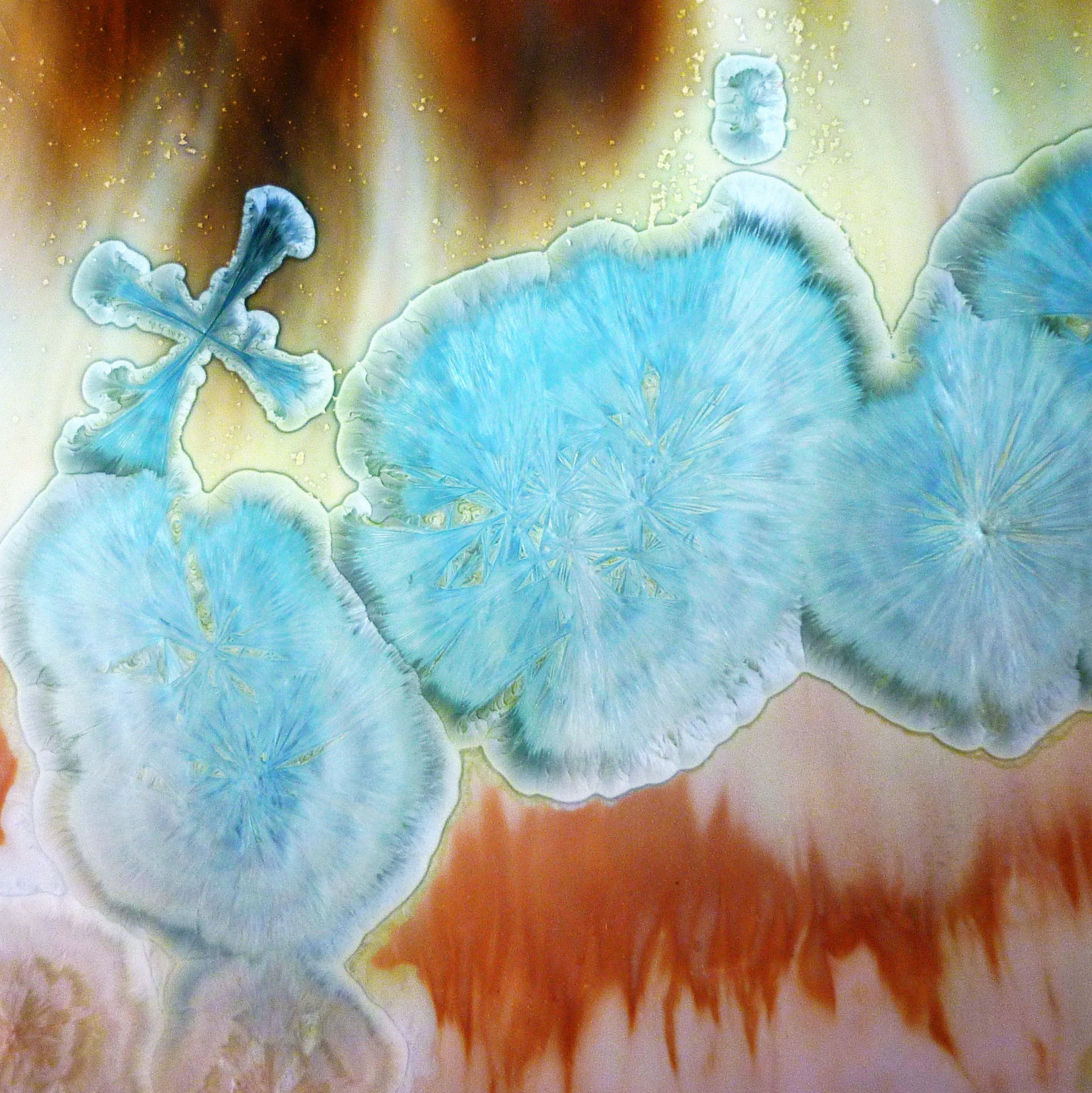 crystal print crystalline ceramics skye maggie zerafa