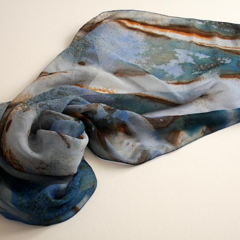 silk scarf print crystal skye maggie zerafa