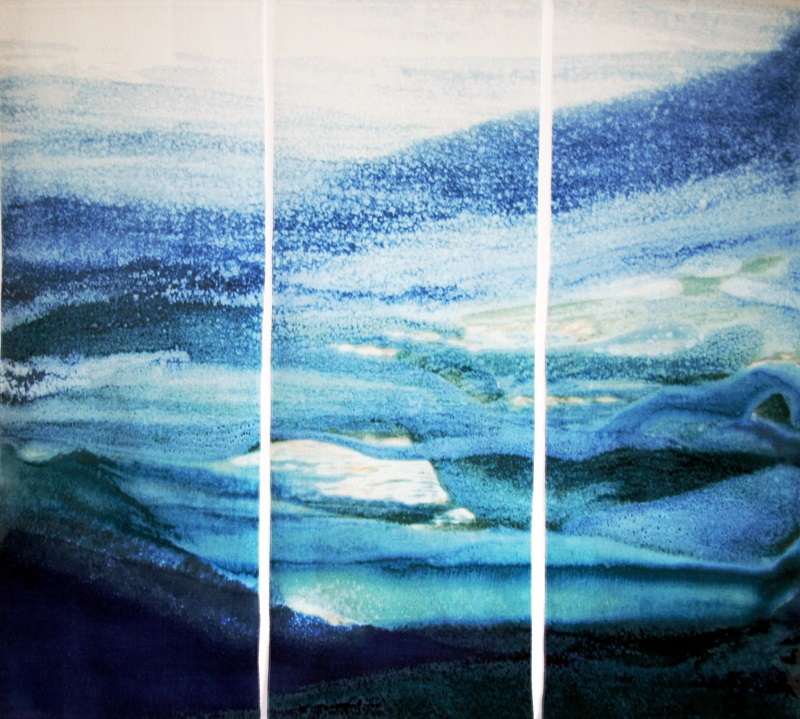 Landscape Linen Wall Hanging